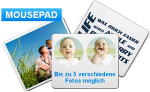 Mousepad mit Foto
